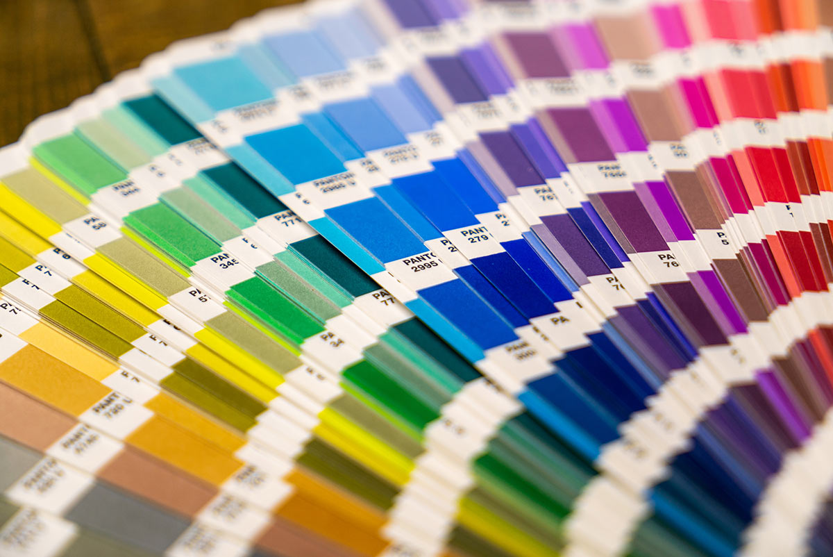 Matching colours for your label are our pride